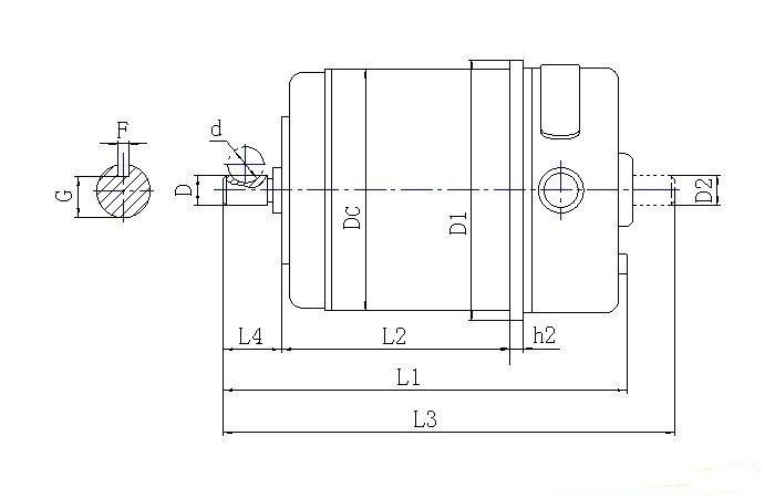zcf系列直流测速发电机